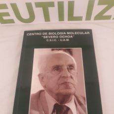 Libros de segunda mano: CEBTEO DE BIOLOGIA MOLECULAR SEVERO OCHOA.MEMORIA 1993/4.. Lote 194377258