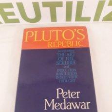 Libros de segunda mano de Ciencias: PLUTO'S REPUBLIC.PETER MEDAWAR.NEW SCIENTIST.. Lote 194400668