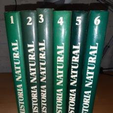 Libros de segunda mano: HISTORIA NATURAL. 6 TOMOS. INSTITUTO GALLACH. Lote 194496880