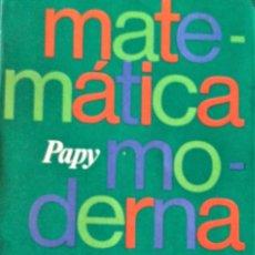 Libros de segunda mano de Ciencias: MATEMATICA MODERNA TOMO V - PAPY - EUDEBA . Lote 194502032
