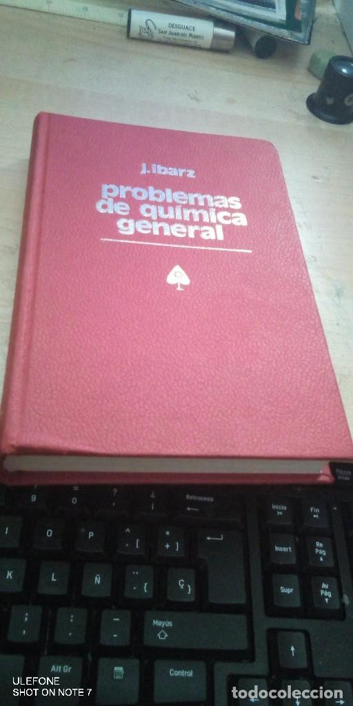 PROBLEMAS DE QUIMICA EN GENERAL IBARZ SEGUNDA EDICION (Libros de Segunda Mano - Ciencias, Manuales y Oficios - Física, Química y Matemáticas)