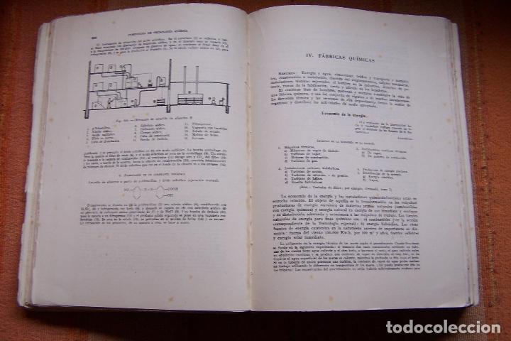 Libros de segunda mano de Ciencias: COMPENDIO DE TECNOLOGÍA QUÍMICA PARA ESTUDIANTES QUÍMICOS E INGENIEROS. F. A. HENGLEIN, 1945 MARÍN. - Foto 5 - 194523943