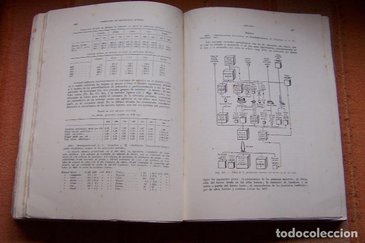Libros de segunda mano de Ciencias: COMPENDIO DE TECNOLOGÍA QUÍMICA PARA ESTUDIANTES QUÍMICOS E INGENIEROS. F. A. HENGLEIN, 1945 MARÍN. - Foto 7 - 194523943