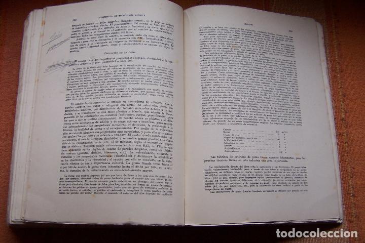 Libros de segunda mano de Ciencias: COMPENDIO DE TECNOLOGÍA QUÍMICA PARA ESTUDIANTES QUÍMICOS E INGENIEROS. F. A. HENGLEIN, 1945 MARÍN. - Foto 8 - 194523943