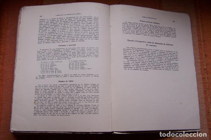 Libros de segunda mano de Ciencias: COMPENDIO DE TECNOLOGÍA QUÍMICA PARA ESTUDIANTES QUÍMICOS E INGENIEROS. F. A. HENGLEIN, 1945 MARÍN. - Foto 9 - 194523943
