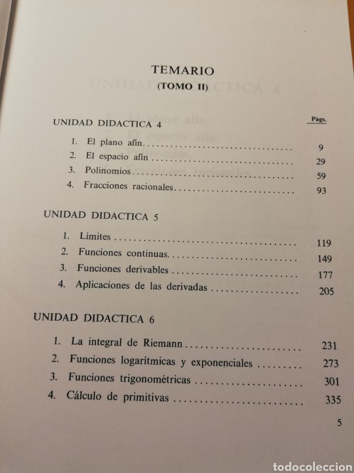 Libros de segunda mano de Ciencias: MATEMÁTICAS ESPECIALES. CURSO DE ACCESO. TOMO II (JESÚS FERNÁNDEZ NOVOA) UNED - Foto 3 - 194540013