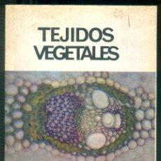 Libros de segunda mano: NUMULITE * TEJIDOS VEGETALES BENIGNO ROMAN CIENCIAS BIOLÓGICAS BIOLOGÍA. Lote 194543503