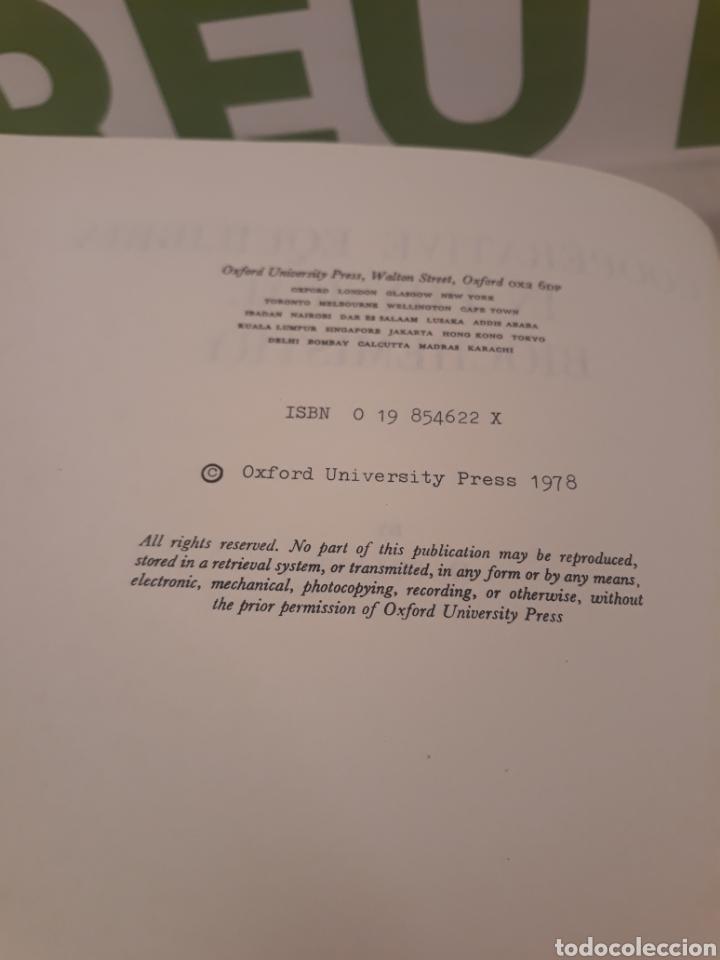 Libros de segunda mano de Ciencias: Cooperative Equilibria in Physical Biochemostry.D.Poland. - Foto 4 - 194568045