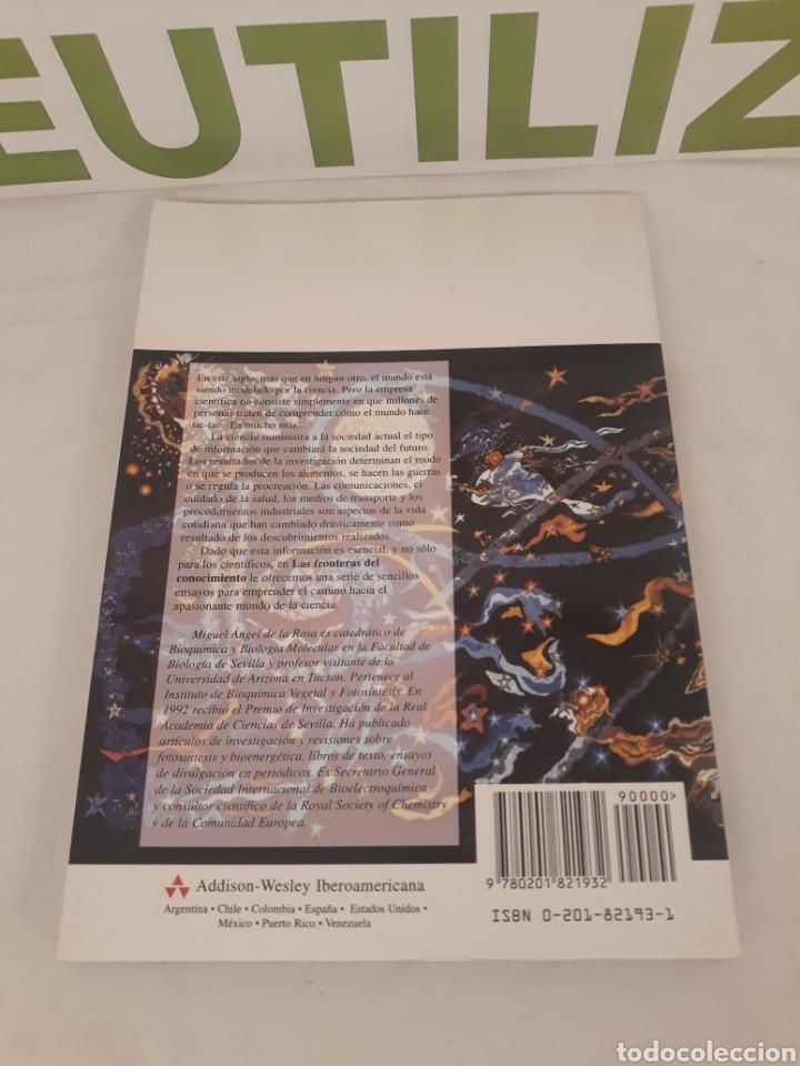 Libros de segunda mano de Ciencias: Las fronteras del conocimiento.Miguel Angel de la rosa. - Foto 2 - 194569540