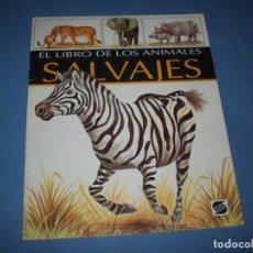 Libros de segunda mano: EL LIBRO DE LOS ANIMALES SALVAJES SUSAETA. Lote 194585952