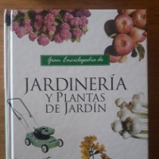 Libros de segunda mano: GRAN ENCICLOPEDIA DE JARDINERÍA Y PLANTAS / EDIT. SERVILIBRO . Lote 194658560