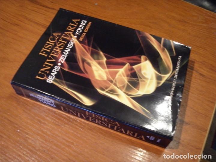 Libros de segunda mano de Ciencias: LIBRO FÍSICA UNIVERSITARIA - Foto 4 - 194714008
