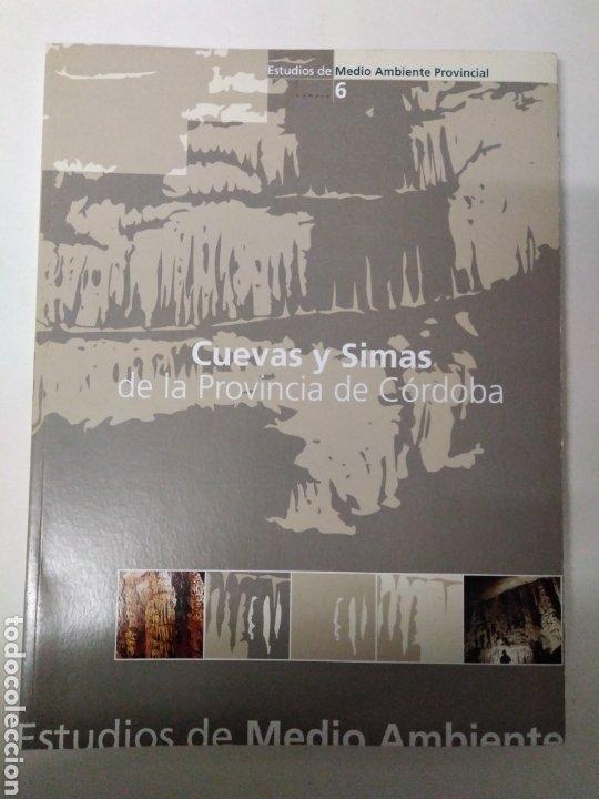 Libros de segunda mano: Cuevas y simas de la provincia de Córdoba/José Antonio Mora Luque. Espeleología. - Foto 3 - 194632915