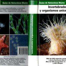 Libros de segunda mano: INVERTEBRADOS Y ORGANISMOS UNICELULARES (BLUME, 1994). Lote 194719341