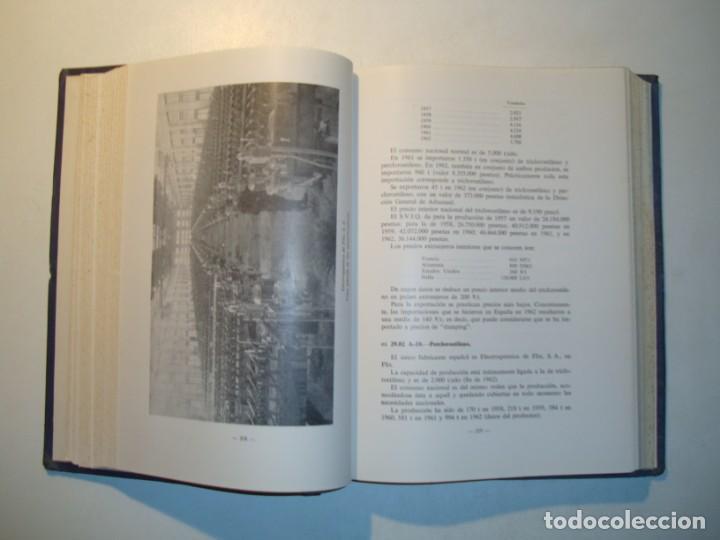 Libros de segunda mano de Ciencias: LA INDUSTRIA QUÍMICA EN ESPAÑA 1962 - COMISIÓN ASESORA ESTUDIOS TÉCNICOS INDUSTRIA QUÍMICA ESPAÑOLA - Foto 5 - 194724962