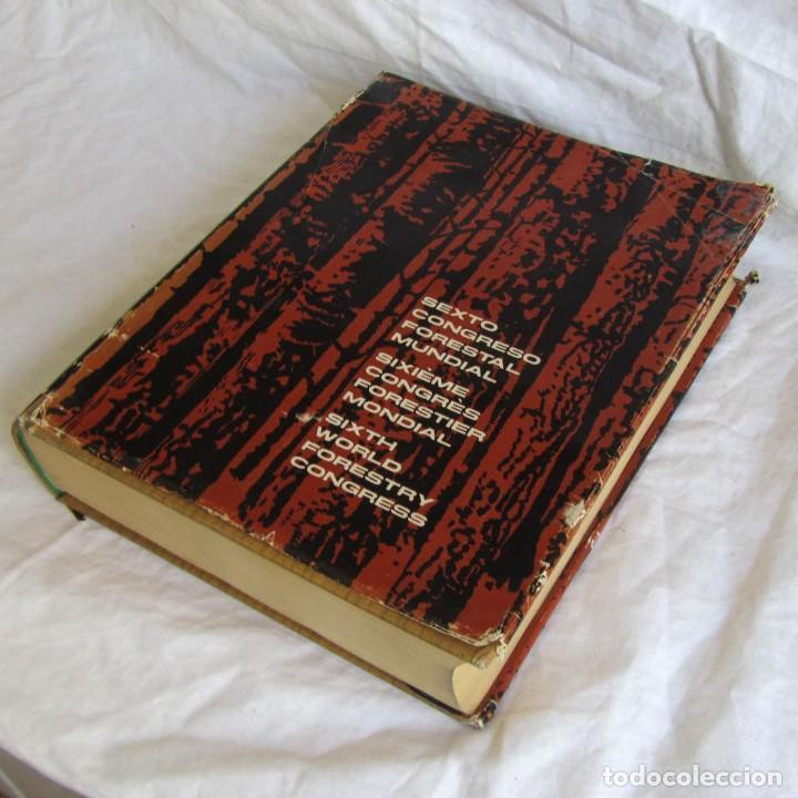 SEXTO CONGRESO FORESTAL MUNDIAL TOMO 1 1966, ESPAÑOL, FRANCÉS E INGLÉS (Libros de Segunda Mano - Ciencias, Manuales y Oficios - Biología y Botánica)