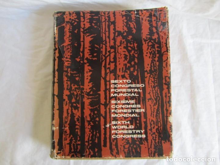 Libros de segunda mano: Sexto congreso Forestal mundial Tomo 1 1966, Español, francés e inglés - Foto 2 - 194876661