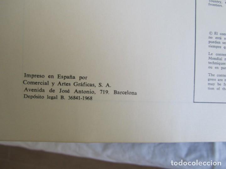 Libros de segunda mano: Sexto congreso Forestal mundial Tomo 1 1966, Español, francés e inglés - Foto 10 - 194876661
