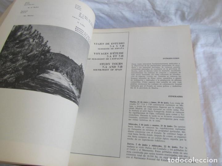 Libros de segunda mano: Sexto congreso Forestal mundial Tomo 1 1966, Español, francés e inglés - Foto 14 - 194876661