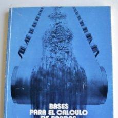 Libros de segunda mano de Ciencias: MARIO NIN SITJA. BASES PARA EL CÁLCULO DE BANDAS TRANSPORTADORAS. FIRESTONE HISPANIA, BASAURI, 1987. Lote 194880847
