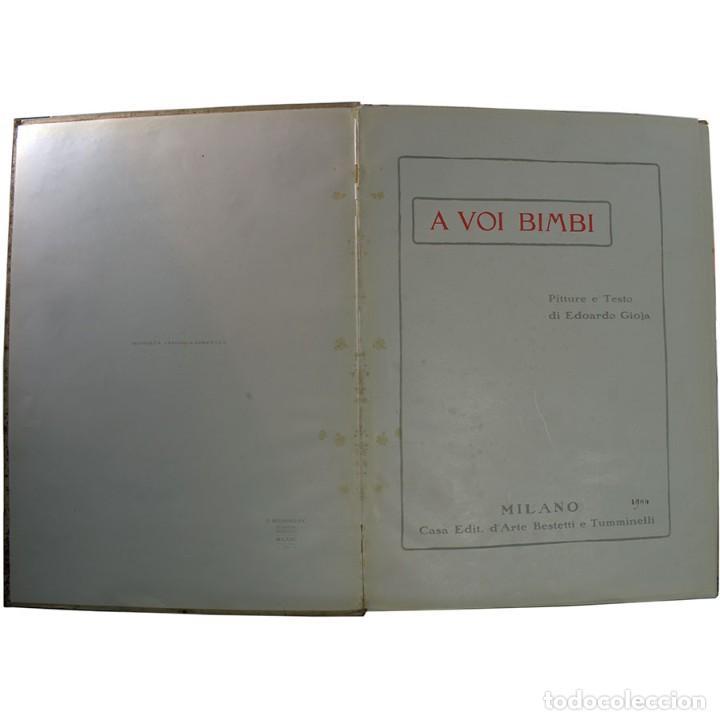 Libros de segunda mano: LIBRO ANTIGUO. A VOI BIMBI, EDOARDO GIOJA. 1960 - Foto 2 - 194886425