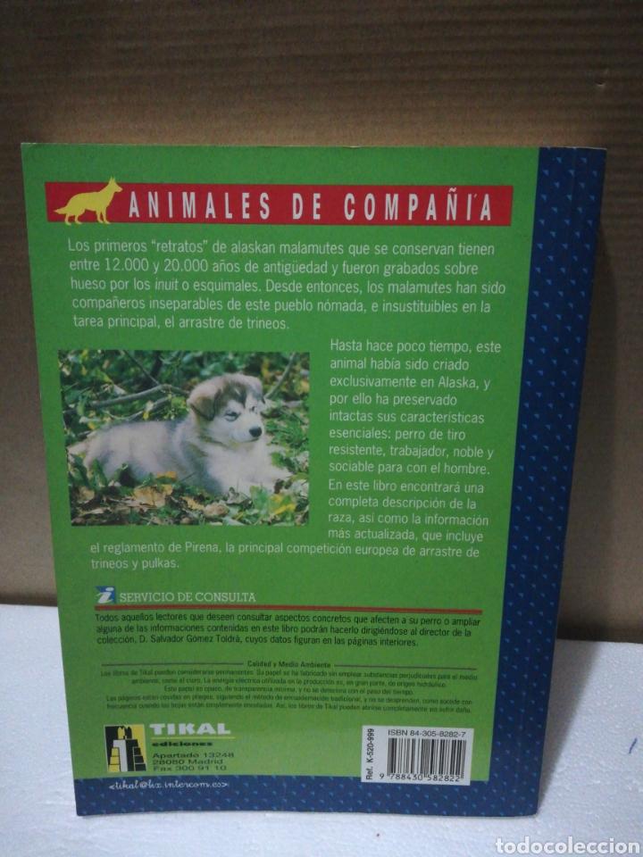 Libros de segunda mano: El nuevo libro del Alaskan Malamute. Salvador Gómez Toldra - Foto 2 - 194891630