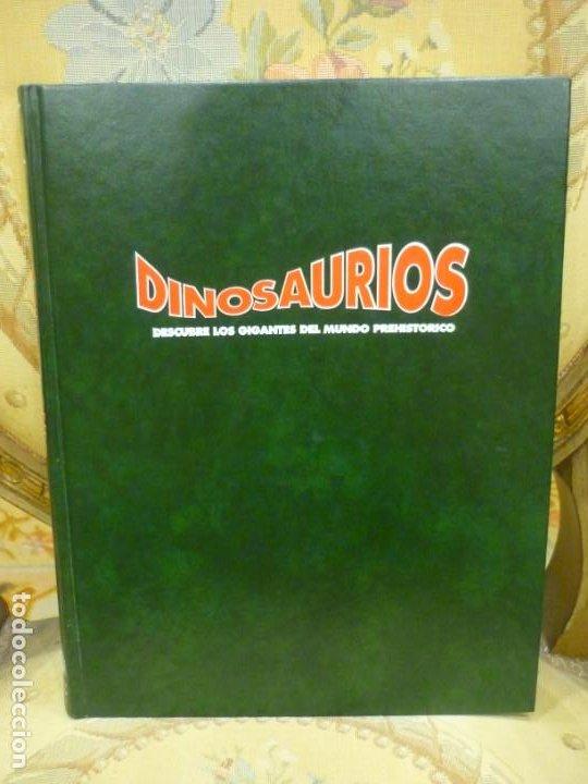 DINOSAURIOS. DESCUBRE LOS GIGANTES DEL MUNDO PREHISTÓRICO. TOMO 5. (Libros de Segunda Mano - Ciencias, Manuales y Oficios - Paleontología y Geología)