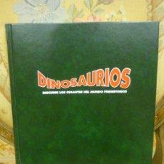 Libros de segunda mano: DINOSAURIOS. DESCUBRE LOS GIGANTES DEL MUNDO PREHISTÓRICO. TOMO 5.. Lote 194896397