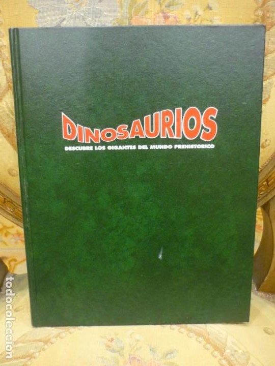 DINOSAURIOS. DESCUBRE LOS GIGANTES DEL MUNDO PREHISTÓRICO. TOMO 3. PLANETA DEAGOSTINI 1.993. (Libros de Segunda Mano - Ciencias, Manuales y Oficios - Paleontología y Geología)