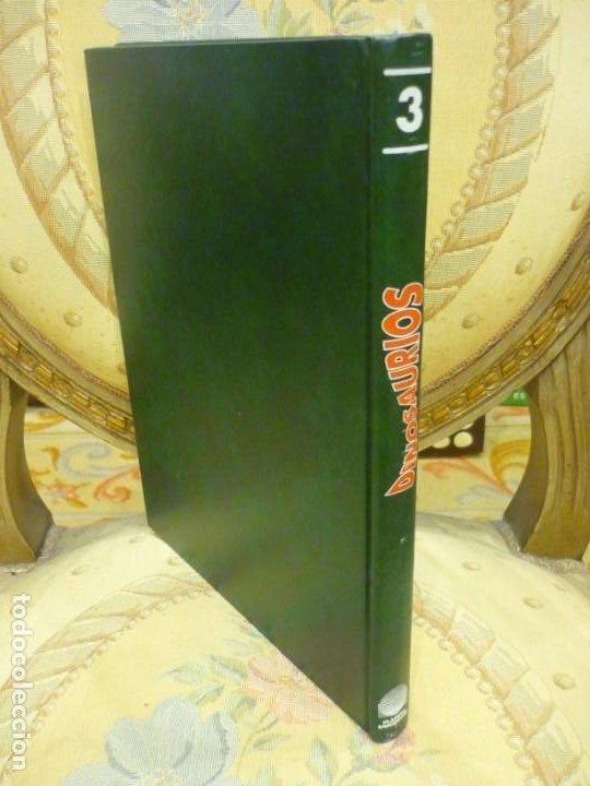 Libros de segunda mano: DINOSAURIOS. DESCUBRE LOS GIGANTES DEL MUNDO PREHISTÓRICO. TOMO 3. PLANETA DeAGOSTINI 1.993. - Foto 2 - 194897097
