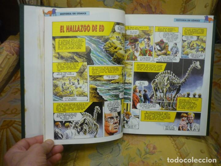 Libros de segunda mano: DINOSAURIOS. DESCUBRE LOS GIGANTES DEL MUNDO PREHISTÓRICO. TOMO 3. PLANETA DeAGOSTINI 1.993. - Foto 5 - 194897097