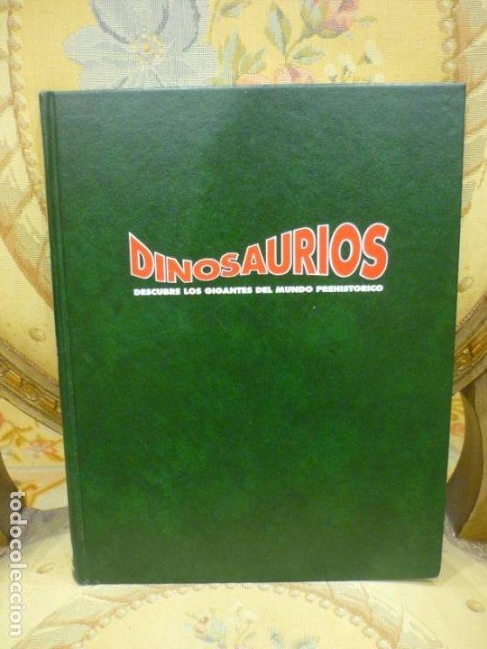 DINOSAURIOS. DESCUBRE LOS GIGANTES DEL MUNDO PREHISTÓRICO. TOMO 1. PLANETA DEAGOSTINI 1.993. (Libros de Segunda Mano - Ciencias, Manuales y Oficios - Paleontología y Geología)