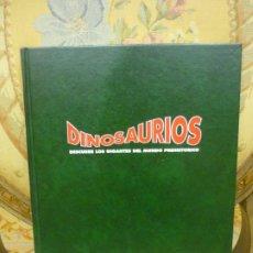 Libros de segunda mano: DINOSAURIOS. DESCUBRE LOS GIGANTES DEL MUNDO PREHISTÓRICO. TOMO 1. PLANETA DEAGOSTINI 1.993.. Lote 194897370