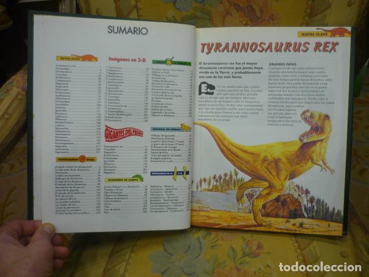 Libros de segunda mano: DINOSAURIOS. DESCUBRE LOS GIGANTES DEL MUNDO PREHISTÓRICO. TOMO 1. PLANETA DeAGOSTINI 1.993. - Foto 4 - 194897370