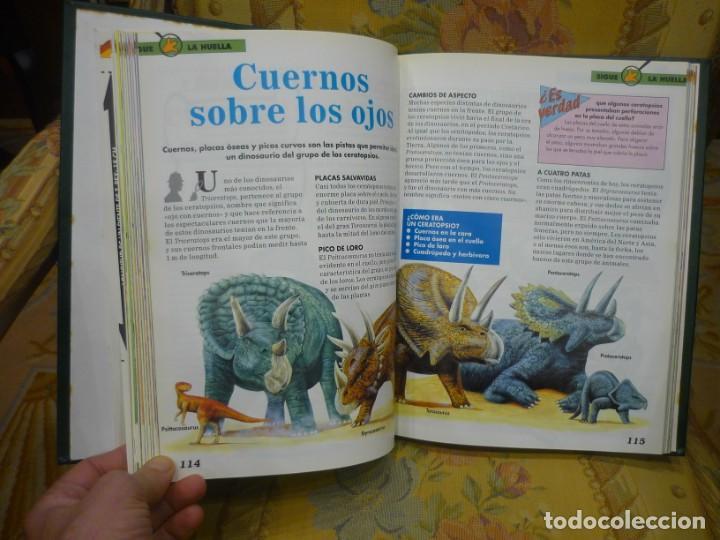 Libros de segunda mano: DINOSAURIOS. DESCUBRE LOS GIGANTES DEL MUNDO PREHISTÓRICO. TOMO 1. PLANETA DeAGOSTINI 1.993. - Foto 5 - 194897370