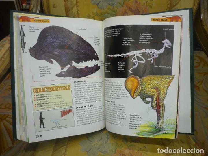 Libros de segunda mano: DINOSAURIOS. DESCUBRE LOS GIGANTES DEL MUNDO PREHISTÓRICO. TOMO 1. PLANETA DeAGOSTINI 1.993. - Foto 6 - 194897370