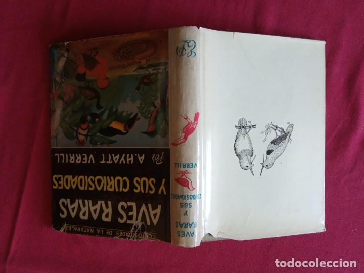 Libros de segunda mano: Aves Raras y sus Curiosidades. A. Hyatt Verrill. - Foto 2 - 194897588