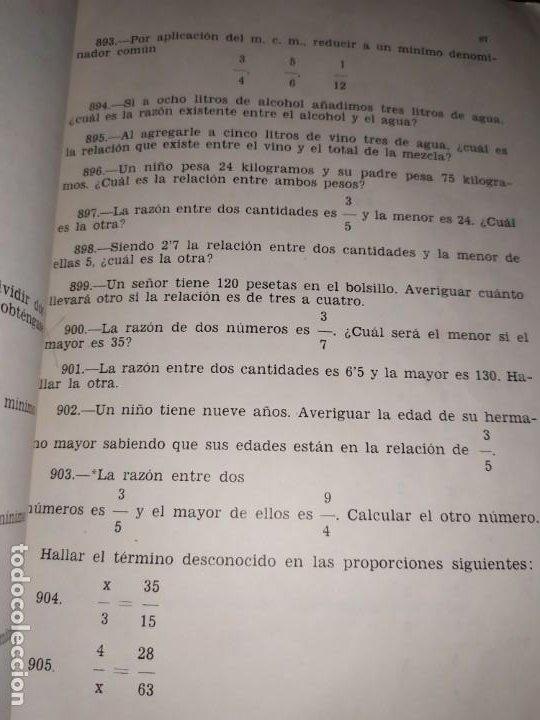 Libros de segunda mano de Ciencias: ÚNICO? 2000 PROBLEMAS DE MATEMÁTICAS BACHILLER ELEMENTAL CURSOS I II III RICARDO GARCÍA ROCA - Foto 8 - 194905936