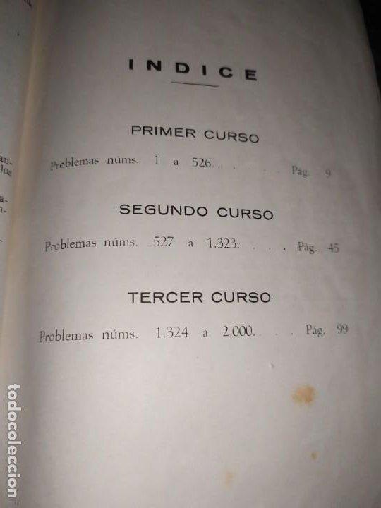 Libros de segunda mano de Ciencias: ÚNICO? 2000 PROBLEMAS DE MATEMÁTICAS BACHILLER ELEMENTAL CURSOS I II III RICARDO GARCÍA ROCA - Foto 19 - 194905936