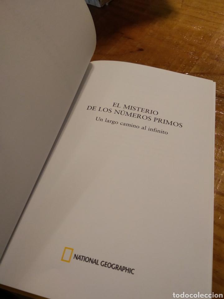 Libros de segunda mano de Ciencias: EL MISTERIO DE LOS NÚMEROS PRIMOS. - Foto 3 - 194933647