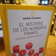 Libros de segunda mano de Ciencias: EL MISTERIO DE LOS NÚMEROS PRIMOS.. Lote 194933647