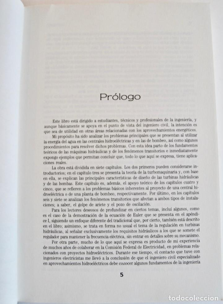Libros de segunda mano de Ciencias: Humberto Gardea Villegas. Aprovechamientos Hidroélectricos y de Bombeo. Editor Trillas. 1ª Ed, 1992 - Foto 3 - 194946500
