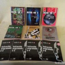 Libros de segunda mano de Ciencias: LOTE DE 10 LIBROS DE RADIO Y RADIOTECNIA, VARIAS AUTORES Y AÑOS, A CLASIFICAR. Lote 194956495
