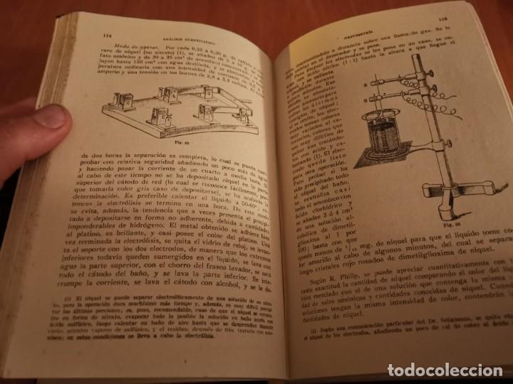 Libros de segunda mano de Ciencias: TRATADO DE QUÍMICA ANALÍTICA ANÁLISIS CUANTITATIVA PROF. TREADWELL ED. MARÍN 1941 - Foto 3 - 194973163