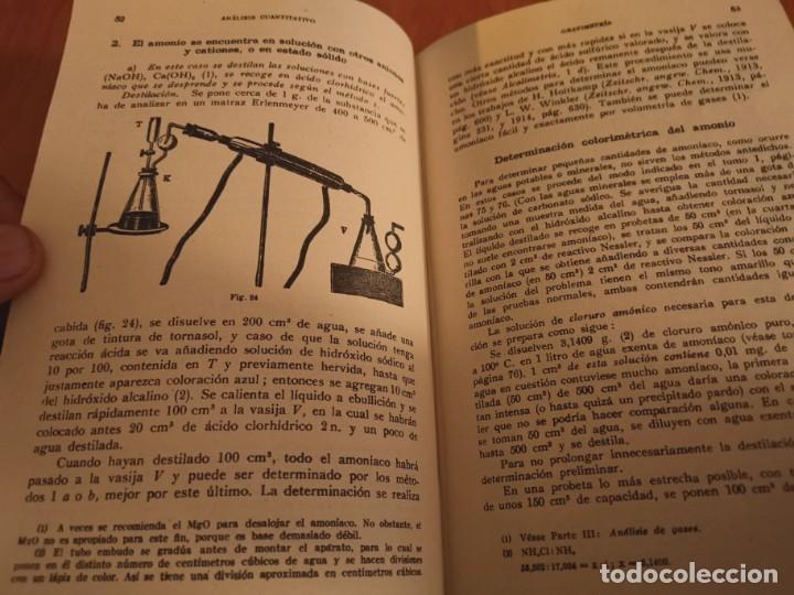 Libros de segunda mano de Ciencias: TRATADO DE QUÍMICA ANALÍTICA ANÁLISIS CUANTITATIVA PROF. TREADWELL ED. MARÍN 1941 - Foto 4 - 194973163