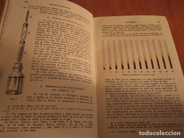 Libros de segunda mano de Ciencias: TRATADO DE QUÍMICA ANALÍTICA ANÁLISIS CUANTITATIVA PROF. TREADWELL ED. MARÍN 1941 - Foto 5 - 194973163