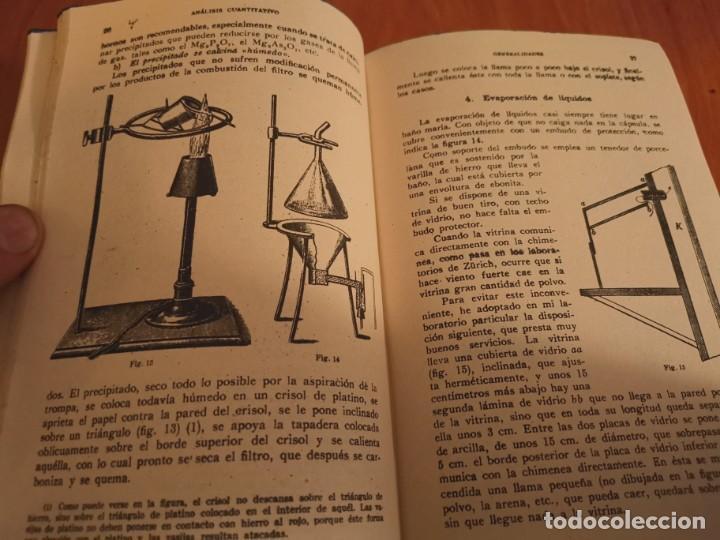 Libros de segunda mano de Ciencias: TRATADO DE QUÍMICA ANALÍTICA ANÁLISIS CUANTITATIVA PROF. TREADWELL ED. MARÍN 1941 - Foto 6 - 194973163