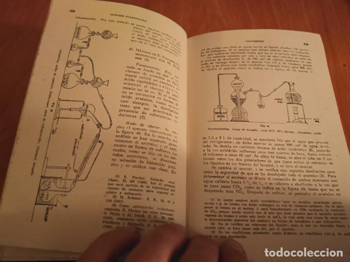 Libros de segunda mano de Ciencias: TRATADO DE QUÍMICA ANALÍTICA ANÁLISIS CUANTITATIVA PROF. TREADWELL ED. MARÍN 1941 - Foto 7 - 194973163