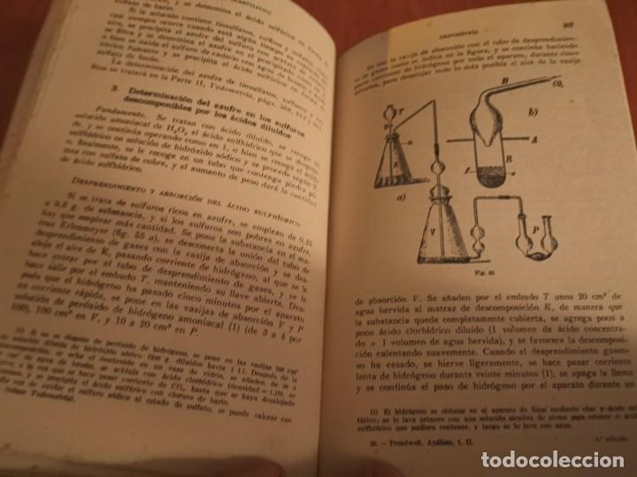 Libros de segunda mano de Ciencias: TRATADO DE QUÍMICA ANALÍTICA ANÁLISIS CUANTITATIVA PROF. TREADWELL ED. MARÍN 1941 - Foto 8 - 194973163