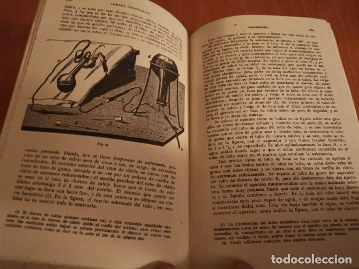 Libros de segunda mano de Ciencias: TRATADO DE QUÍMICA ANALÍTICA ANÁLISIS CUANTITATIVA PROF. TREADWELL ED. MARÍN 1941 - Foto 9 - 194973163